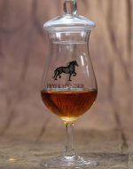 Frysk Hynder Whisky glass and glass lid